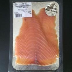 Saumon sauvage d'Ecosse fumé, 2/3 tranches, 150g